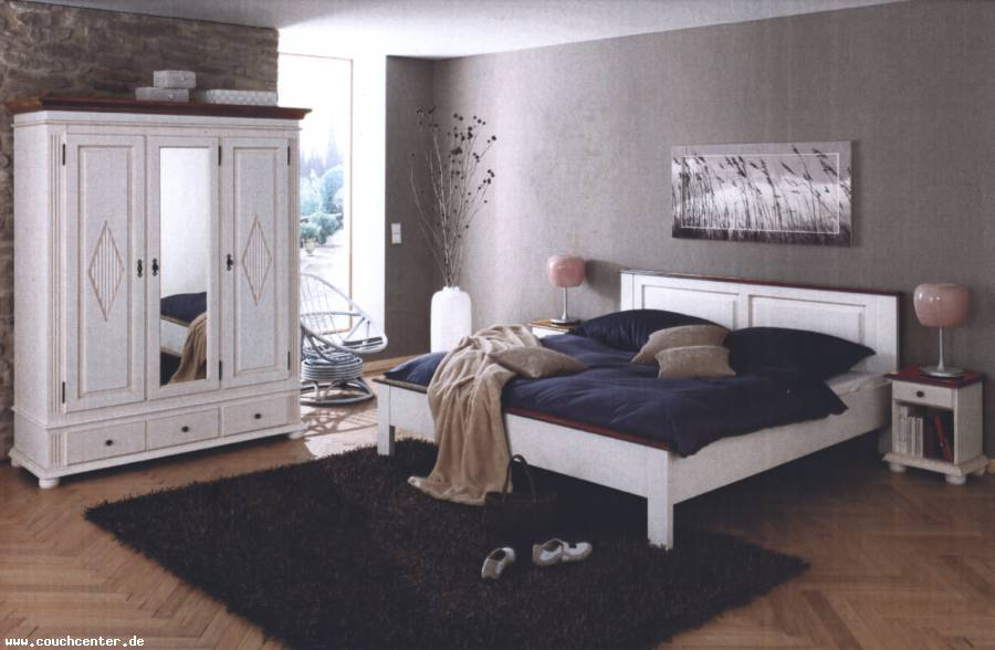 couch center online versandhandel landhaus schlafzimmer. Black Bedroom Furniture Sets. Home Design Ideas